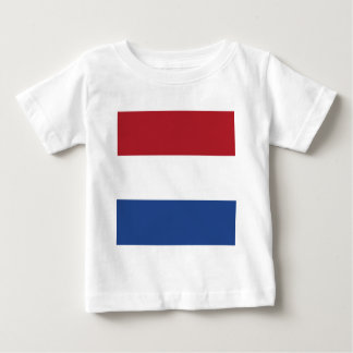 Flag of Netherlands Baby T-Shirt