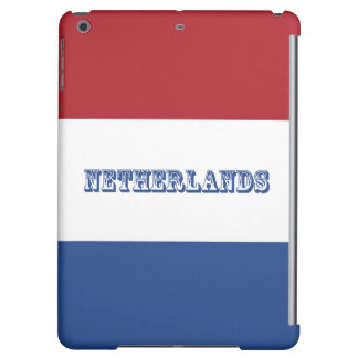 Flag of Netherlands iPad Air Covers