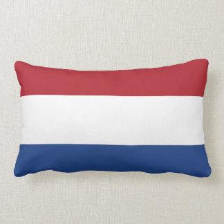 Flag of Netherlands Lumbar Pillow