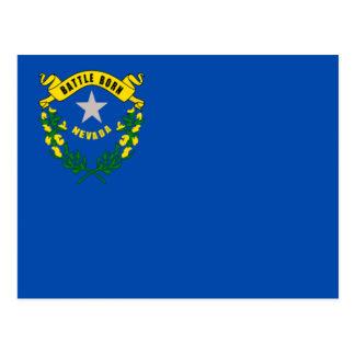Flag of Nevada Postcard