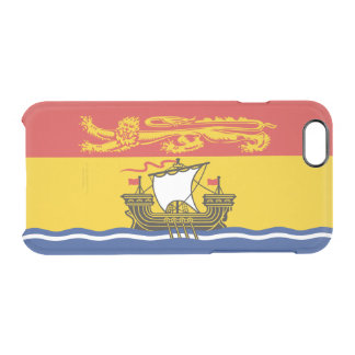 Flag of New Brunswick Clear iPhone Case
