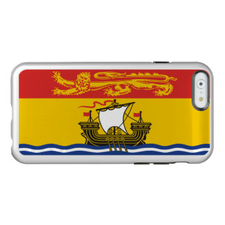 Flag of New Brunswick Silver iPhone Case