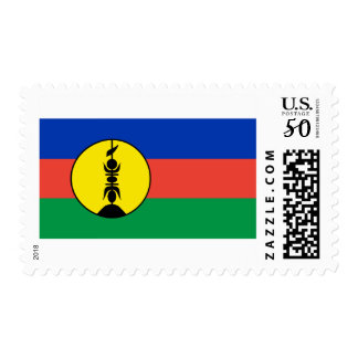 Flag of New Caledonia Postage Stamps