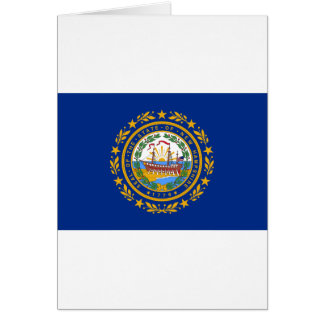 Flag of New Hampshire Card