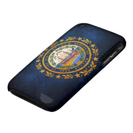 Flag of New Hampshire Case-Mate iPhone 3 Cases