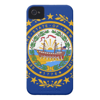 Flag of New Hampshire iPhone 4 Cover