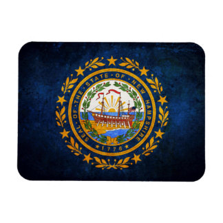 Flag of New Hampshire Magnet