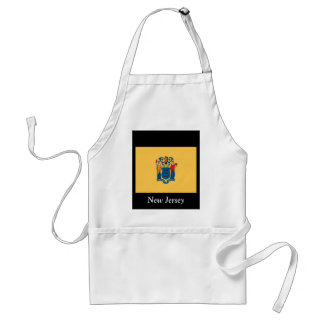 Flag of New Jersey Adult Apron