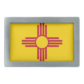 Flag Of New Mexico Belt Buckle
