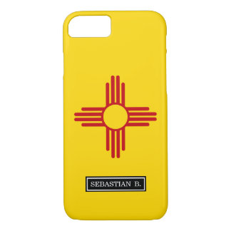 Flag of New Mexico iPhone 7 Case