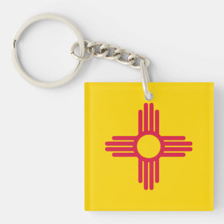 Flag of New Mexico Keychain