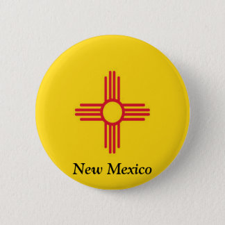 Flag of New Mexico Pinback Button