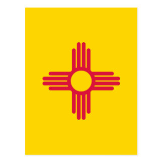 Flag of New Mexico Post Card