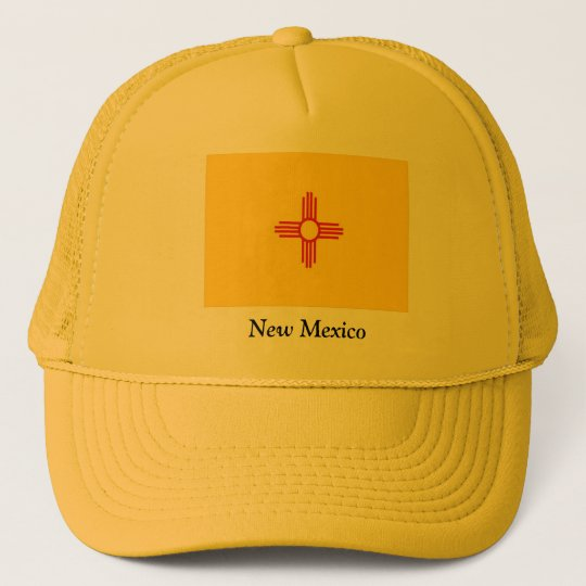 Flag of New Mexico Trucker Hat