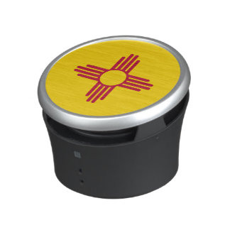 Flag of New Mexico- Zia Sun Speaker