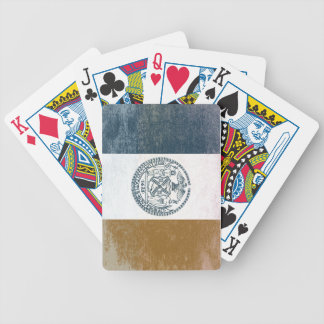 Flag of New York Bicycle Playing Cards