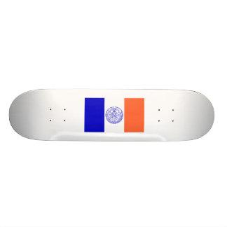 Flag of New York City Skateboard