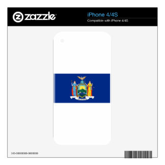 Flag_of_New_York Skin For The iPhone 4