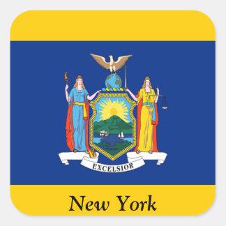 Flag of New York Sticker