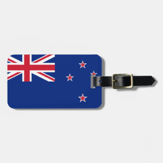 Flag of New Zealand Easy ID Personal Bag Tag