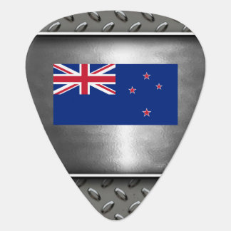 Flag of New Zealand Guitar Pick