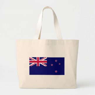 Flag of New Zealand Large Tote Bag