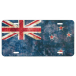Flag of New Zealand License Plate