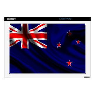 "Flag of New Zealand, New Zealand Flag 17"" Laptop Decal"