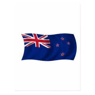 Flag of New Zealand Postcard