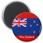 Flag of New Zealand Refrigerator Magnet