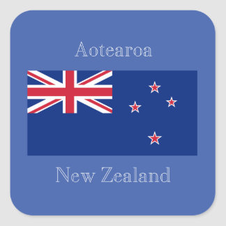 Flag of New Zealand Stickers