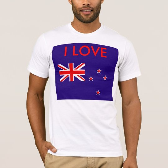 Flag of New Zealand T-Shirt