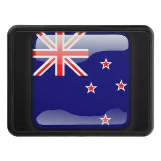 Flag of New Zealand Tow Hitch Cover