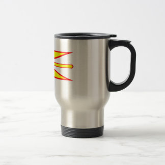 Flag of Newfoundland and Labrador, Canada. Travel Mug