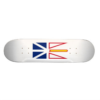 Flag of Nfld. and Labrador Skateboard Deck
