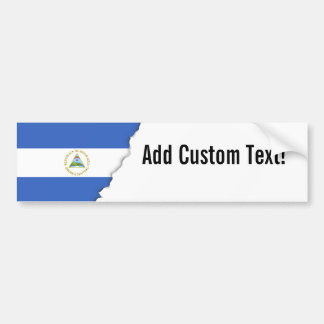 Flag of Nicaragua Bumper Sticker
