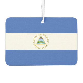 Flag of Nicaragua Car Air Freshener