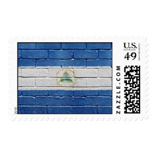 Flag of Nicaragua Postage