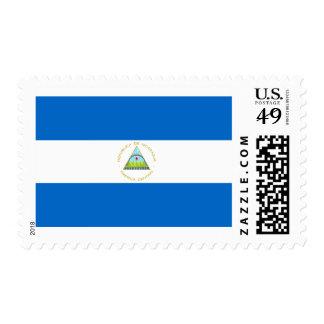 Flag of Nicaragua Postage Stamps