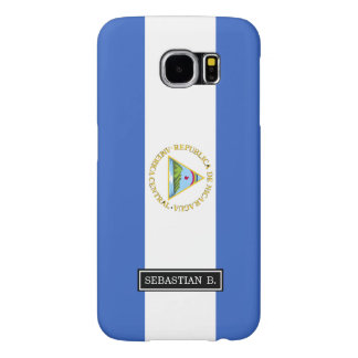 Flag of Nicaragua Samsung Galaxy S6 Cases