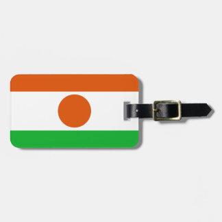 Flag of Niger Easy ID Personal Bag Tag