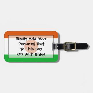 Flag of Niger Easy ID Personal Luggage Tag