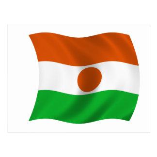 Flag of Niger Postcard