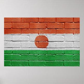 Flag of Niger Poster