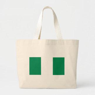 Flag of Nigeria Canvas Bags