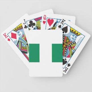 Flag_of_Nigeria Bicycle Playing Cards