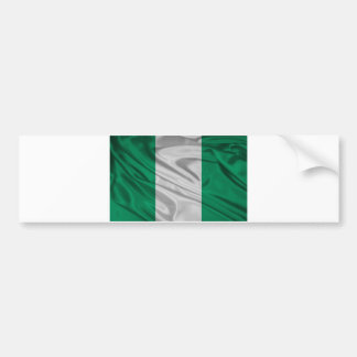 Flag of Nigeria Bumper Sticker
