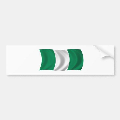 Flag of Nigeria Bumper Stickers