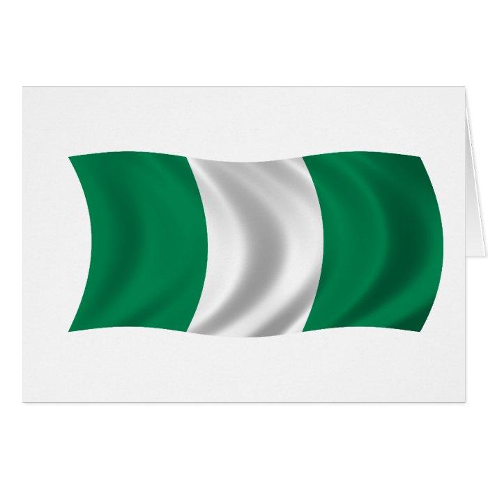 Flag of Nigeria Card
