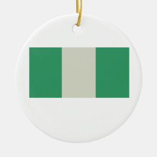 Flag of Nigeria Ceramic Ornament